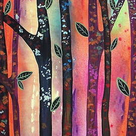 Karla Gerard - Colorful Forest