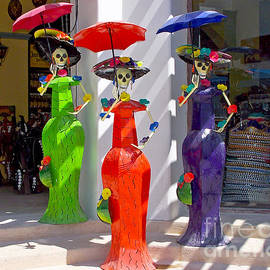 Colorful Mannequins by Tom Doud
