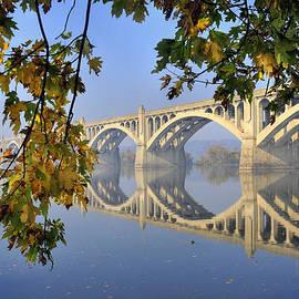 Columbia Wrightsville Bridge  by Dan Myers