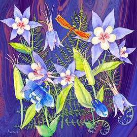 Columbine in Square by Teresa Ascone
