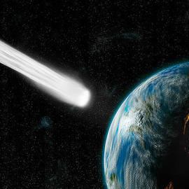 Comet Strike3  by Marc Ward