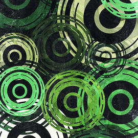 Shawna Rowe - Concentric Intensity - Green