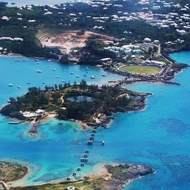 Coney Island, Bermuda Aerial by Marcus Dagan