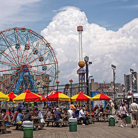 Coney Island June 2013 by Frank Winters