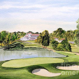Bill Holkham - Congressional Golf Course 10Th Hole