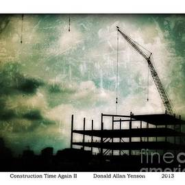 Donald Yenson - Construction Time Again II