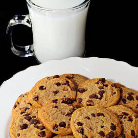 Cookies - Milk - Chocolate Chip - Baker by Andee Design