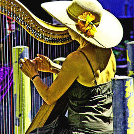 Coos Bay Harp Lady by Joseph Coulombe