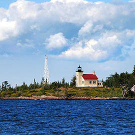 Copper Harbor Lighthouse by Christina Rollo