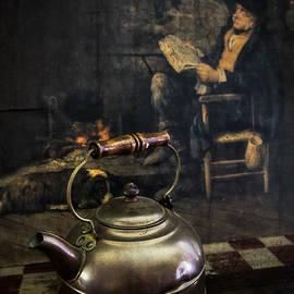Copper Teapot by Debra and Dave Vanderlaan