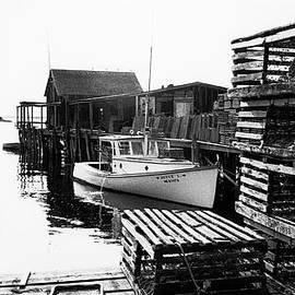 Beals Island Maine 1973 by Marty Saccone