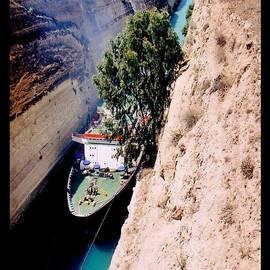 John Malone - Corinth Canal Poster
