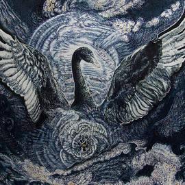 Cosmic Black Swan  by Helen Duley
