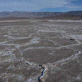 Cottonball Basin at Death Valley by Juli Scalzi