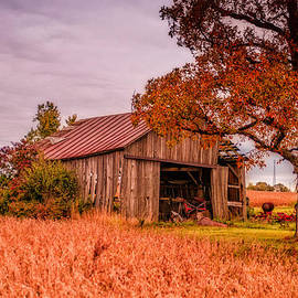 Country Barn by Mary Timman