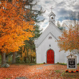 Country Church by Bill Wakeley