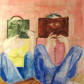 Gary Kirkpatrick - Couple reading
