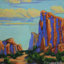 Courthouse Rock in Sedona by Maria Hunt