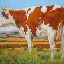 Margaret Stockdale - Cow On The Lookout