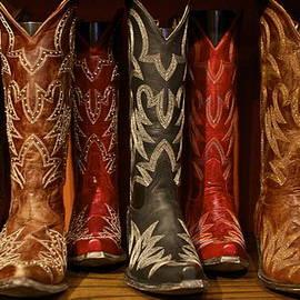 Cowboy Boots by John Babis