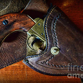 Paul Ward - Cowboy Gun in Holster