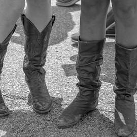 Cowgirl Boots At 2014 Kentucky Derby  by John McGraw