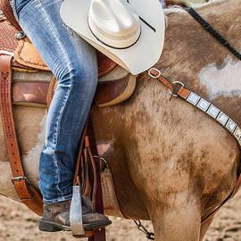 Toni Thomas - Cowgirl on Her Horse