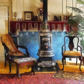 Cozy Victorian Parlor by Susan Savad