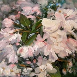 Crab Apple Blossoms by J R Baldini