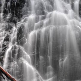 Crabtree Falls Detail #3 - North Carolina waterfalls series by Matt Plyler
