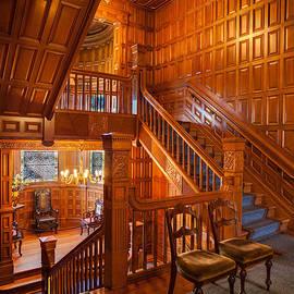 Mike Reid - Craigdarroch Castle Stairwell