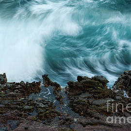 Crashing Ocean Wave by Charmian Vistaunet
