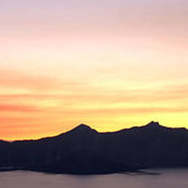 Crater Lake Sunset by Brian Harig