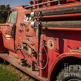 Crawford Fire Engine by Janice Pariza