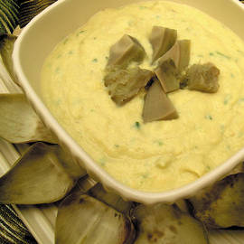 Cream of Artichoke Soup by James Temple