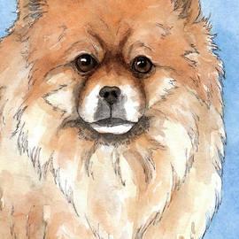 Cherilynn Wood - Cream Pomeranian dog