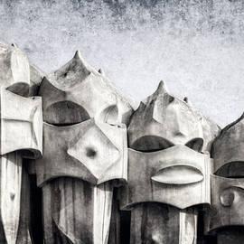 Joan Carroll - Creatures of La Pedrera BW