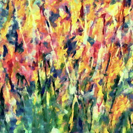 Crescendo Of Spring Abstract by Isabella Howard