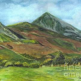 Carol Wisniewski - Croagh Saint Patricks Mountain in Ireland
