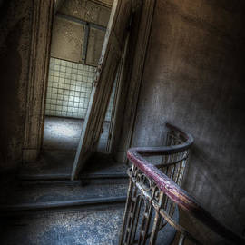 Crooked stairs by Nathan Wright