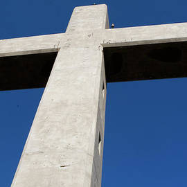 Cross Of Ancient Ialyssos Rhodes by Lorraine Devon Wilke