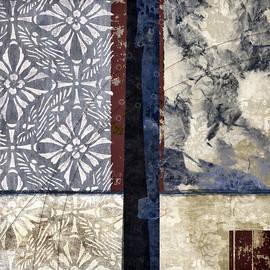 Carol Leigh - Cross Polynesian Abstract Collage