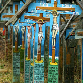 Emanuel Tanjala - Crosses in an Orthodox graveyard