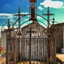 Kathleen K Parker - Crosses Tomb in Greenwood Cemetery New Orleans