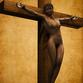 Ramon Martinez - Crucified Black Woman