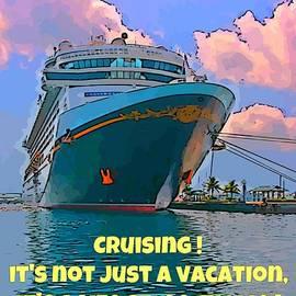 John Malone - Cruise Ship in Port