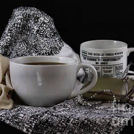 Cup of coffee still life by Luv Photography