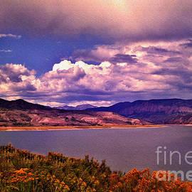 Curecanti Autumn Blue Mesa Colorado by Janice Pariza