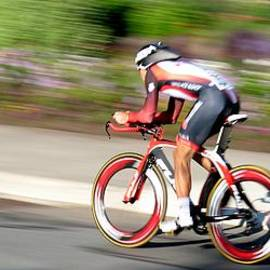 Cyclist Time Trial by Kevin Desrosiers