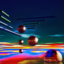 Cylinders and spheres by Ramon Martinez